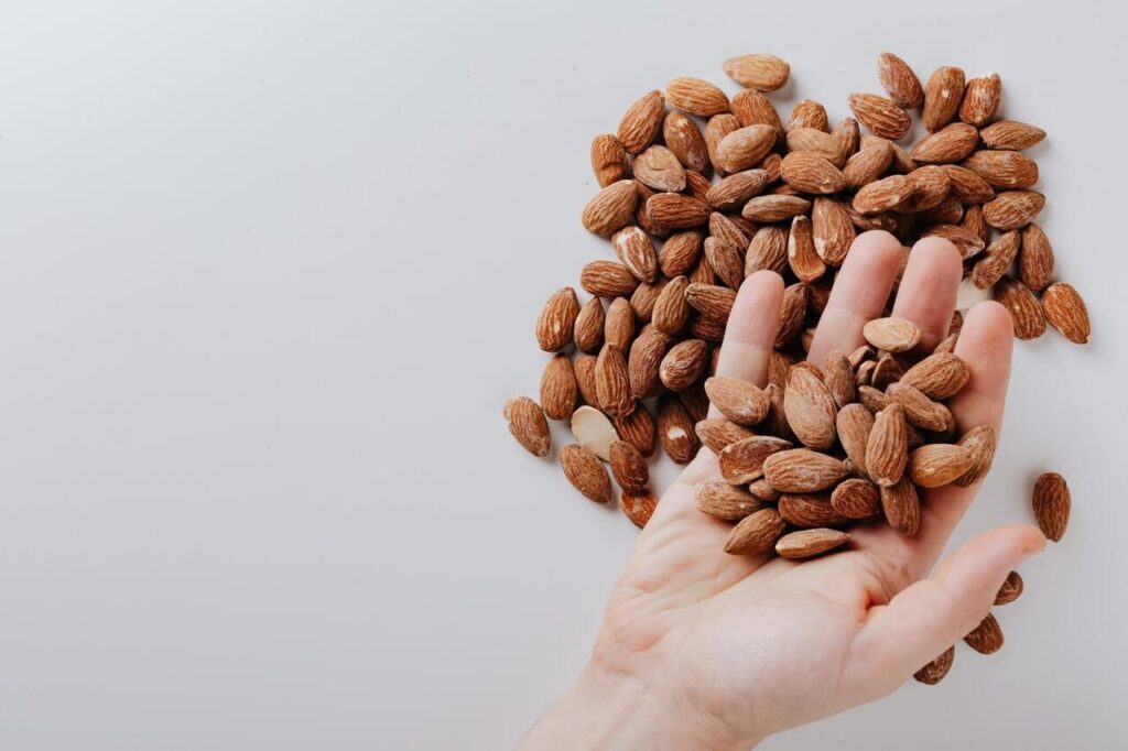 Almond-Oil-to-remove-spots