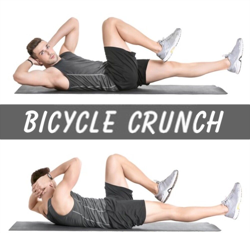 Bicycle-Crunches